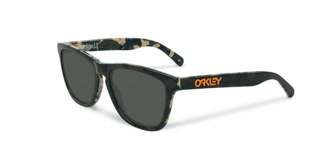 Oakley 0OO2043 FROGSKINS LX Eric Koston Signature Series 2043-13 NIGHT CAMO / DARK GREY