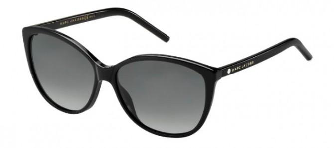 Marc Jacobs MARC 69/S 807 (WJ) Black - Grey Shaded Polarized