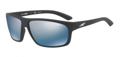 Arnette 0AN4225 BURNOUT 01/22 Matte Black - Dark Grey Mirror Water Polarized