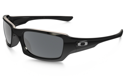 Oakley Fives Squared 9238-04 Polished Black / Gray