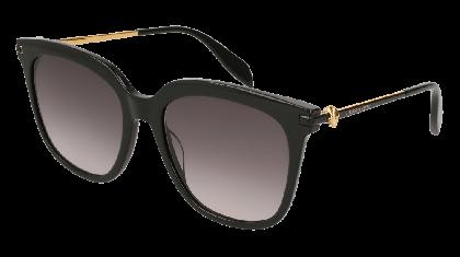 Alexander McQueen AM0107S-001 Black - Gradient Grey