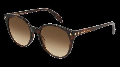 Alexander McQueen AM0130S-002 Havana - Gradient Brown