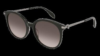 Alexander McQueen AM0135S-001 Black Ruthenium - Gradient Grey