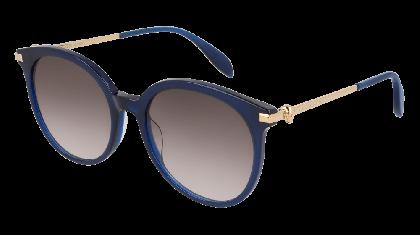 Alexander McQueen AM0135S-005 Blue Gold - Gradient Grey