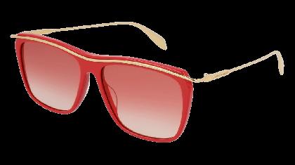 Alexander McQueen AM0143S-005 Red Gold - Gold Red