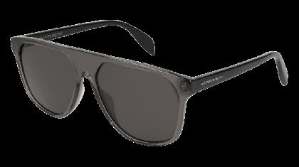 Alexander McQueen AM0146S-001 Transparent Grey Black - Grey