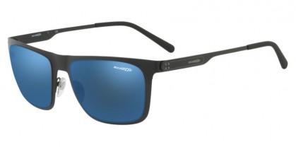Arnette 0AN3076 501/55 Matte Black - Blue Mirror Blue