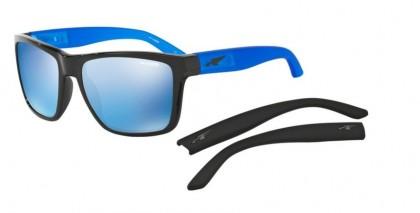 Arnette 0AN4177 WITCH DOCTOR 222555 Black - Dark Blue Mirror Blue
