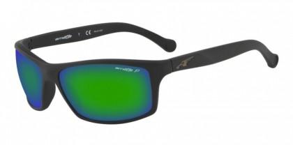 Arnette 0AN4207 01/1I Matte Black - Polar Grey Mirror Green