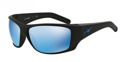 Arnette 0AN4215 HEIST 2.0 01/55 Matte Black - Mirror Blue
