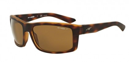 Arnette 0AN4216 CORNER MAN 2321/83 Fuzzy Dark Havana - Dark Brown Polarized