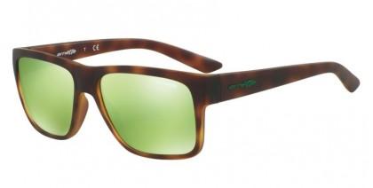 Arnette 0AN4226 RESERVE 21528N Havana Rubber - Light Green Mirror Green
