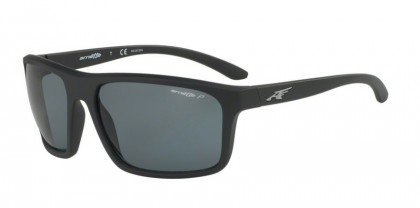 Arnette 0AN4229 SANDBANK 0181 Matte Black - Grey Polarized
