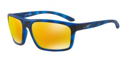 Arnette 0AN4229 SANDBANK 2464N0 Matte Blue Havana - Brown Orange 24k Iridium