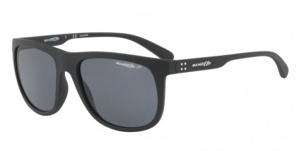 Arnette 0AN4235 CROOKED GRIND 0181 Matte Black - Gray Polarized