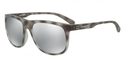 Arnette 0AN4235 CROOKED GRIND 2462Z3 Matte Grey Havana - Grey Mirror Silver Polarized