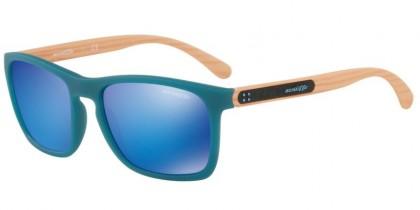 Arnette 0AN4236 WOODWARD 245625 Matte Turquoise - Green Mirror Light Blue