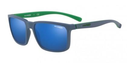 Arnette 0AN4251 STRIPE 256355 Matte Blue - Blue Mirror Blue