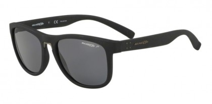 Arnette 0AN4252 WOKE 254181 Black Rough - Polarized Grey
