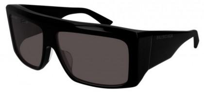 Balenciaga BB0002S-001 Black - Grey