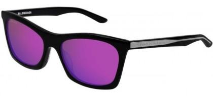 Balenciaga BB0006S-004 Black - Violet