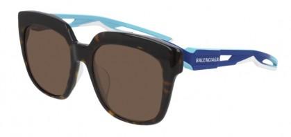 Balenciaga BB0025SA-002 Havana Blue - Brown