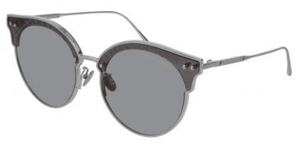 Bottega Veneta BV0210S-001 Silver  - Grey