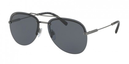 Bulgari 0BV5044 195/81 Matte Gunmetal - Grey Polarized