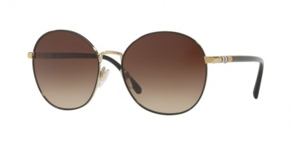Burberry 0BE3094 114513 Light Gold - Brown Gradient