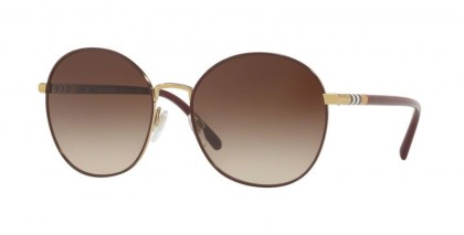 Burberry 0BE3094 125613 Light Gold - Brown Gradient