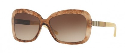 Burberry 0BE4173 361213 Brown Gradient Striped - Brown Gradient