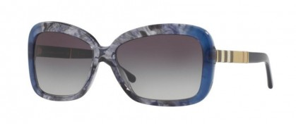 Burberry 0BE4173 36138G Blue Gradient Striped - Grey Gradient