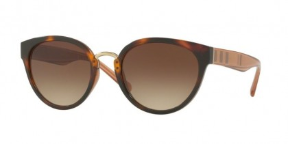 Burberry 0BE4249 331613 Light Havana - Brown Gradient