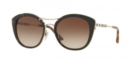 Burberry 0BE4251Q 300213 Dark Havana - Brown Gradient