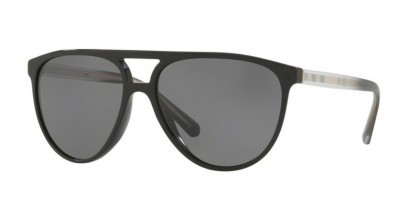 Burberry 0BE4254 300181 Black - Grey Polarized