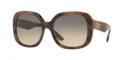 Burberry 0BE4259 3641G9 Spotted Brown - Light Brown Gradient Grey