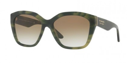 Burberry 0BE4261 36598E Striped Green - Green Gradient