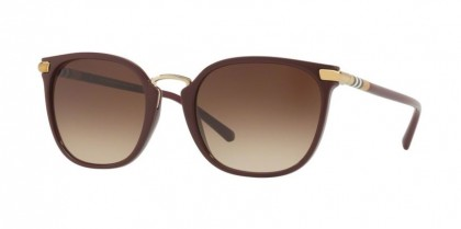 Burberry 0BE4262 340313 Bordeaux - Brown Gradient