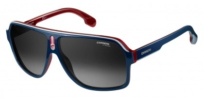 CARRERA 1001/S 8RU/9O Blue Red - Grey Shaded