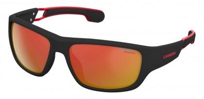 CARRERA 4008/S 003 (W3) Matte Black Red - Red Infrared Oleophobic Multilayer