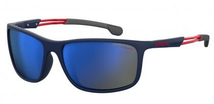 CARRERA 4013/S FLL/XT Matte Blue - Gray Mirror