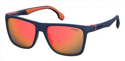 CARRERA 5047/S FLL (UW) Matte Blue - Red Flash Mirror