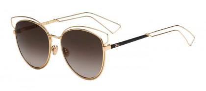 Christian Dior DIORSIDERAL2 JB2 (HA) Rose Gold Brown - Brown Shaded