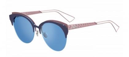 Christian Dior DIORAMACLUB FBX (A4) Matte Blue Pink - Light Blue Multilayer
