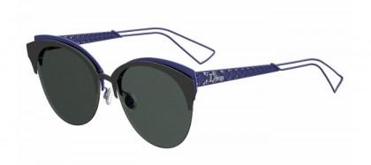 Christian Dior DIORAMACLUB G5V (2K) Matte Black Blue - Grey Antireflection