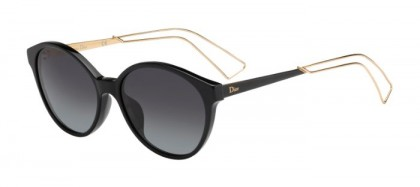 Christian Dior DIORCONFIDENT1 QFE (HD) Black Gold - Smoke Shaded