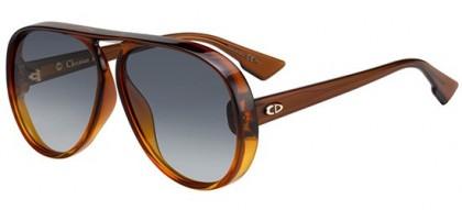 Christian Dior DIORLIA 12J (1I) Brown Shaded Orange - Grey Shaded
