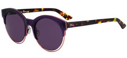 Christian Dior DIORSIDERAL1 1W3 (C6) Dark Violet Pink Havana - Dark Purple