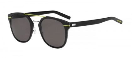 CHRISTIAN DIOR HOMME AL13.5 GR2  (NR) Black Aluminium Yellow - Brown Grey