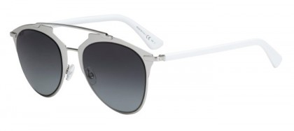 Christian Dior DIORREFLECTED 85L (HD) Palladium White - Grey Shaded